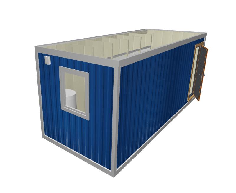 Блок контейнер душевая СТ-42