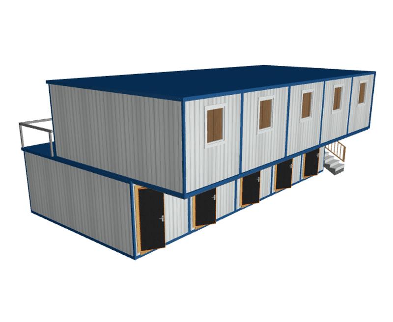 Блок модульное здание общежитие МК-10