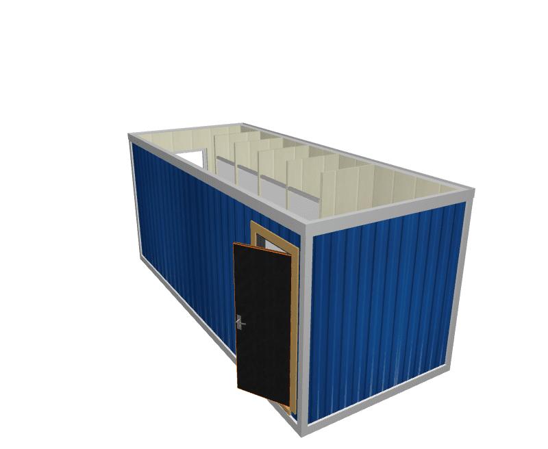Сантех блок-контейнер СТ-42