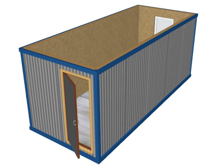 Snimok - Блок-контейнер БК-00