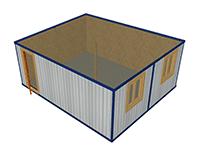 МК-2 модульное здание прорабская