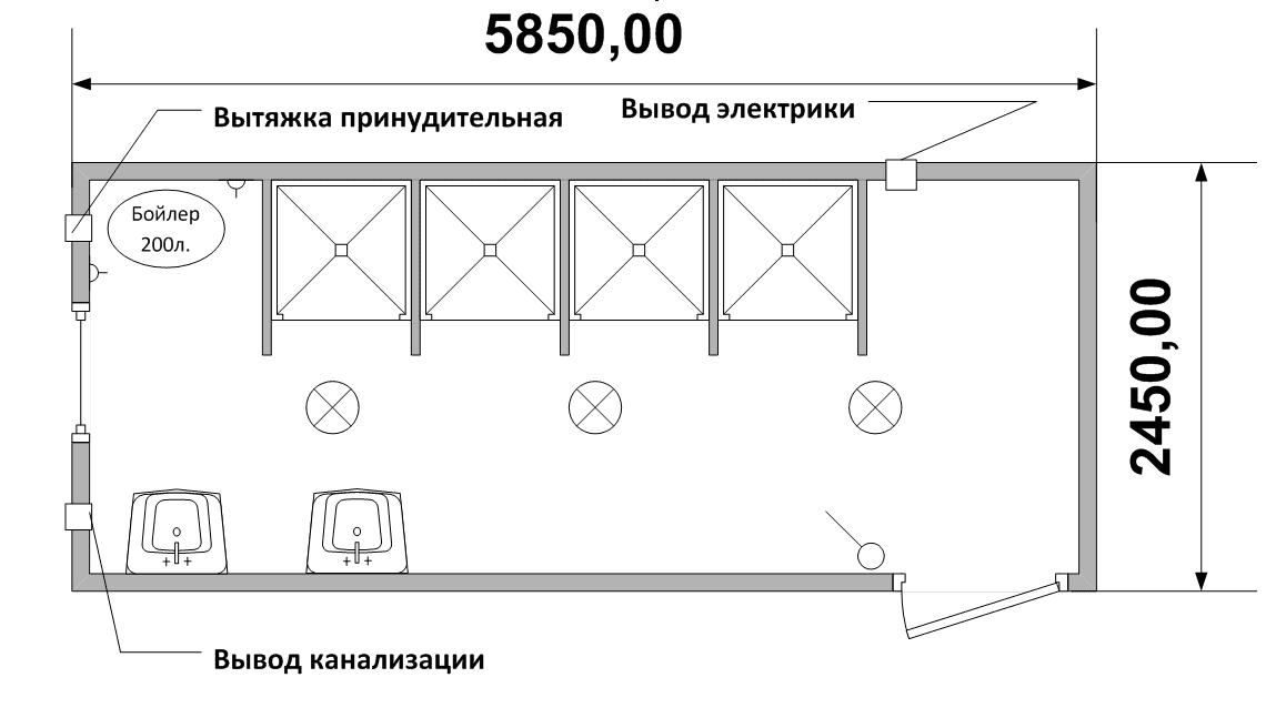 блок-контейнера СТ-42