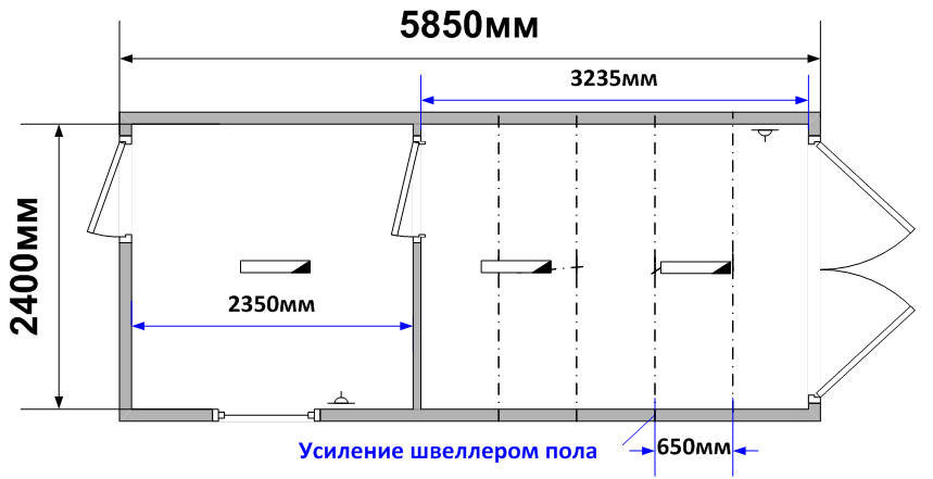 Схема планировки МГ-22