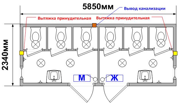 Схема планировки СТ-33