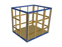 bk 13mini 200x150 - Каркасы строительных бытовок 3 м
