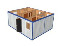 mini - Модульное здание с КПП МК-02