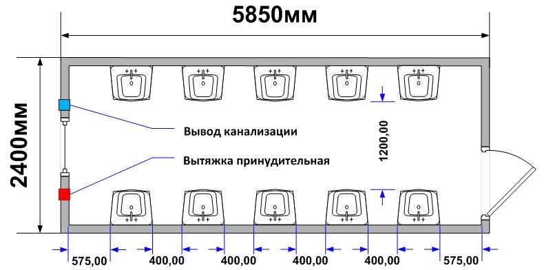Схема планировки СТ-50
