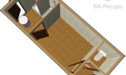 2 250x150 - Блок-контейнер СТ-49