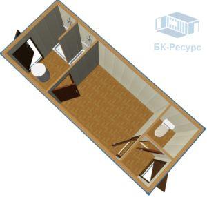 2 300x286 - Блок-контейнер СТ-49