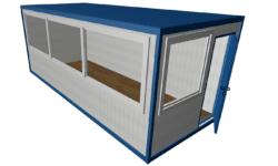 BK 6000h2500h2400 mini 250x150 - Офис с панорамными окнами