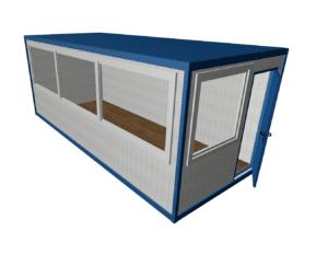 BK 6000h2500h2400 mini 300x233 - Офис с панорамными окнами
