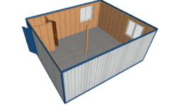 MK 02 1 mini 1 250x150 - МК-02 штаб. Модульное здание из блок контейнеров