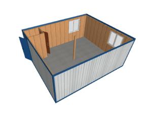 MK 02 1 mini 1 300x236 - МК-02 штаб. Модульное здание из блок контейнеров
