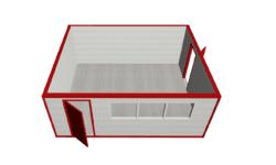 SBK 5850h4800h2400 mini 250x150 - Модульное здание МК-02 из сэндвич-панелей