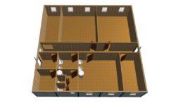 mk 14 5 1024x522 1 250x150 - МК-14. Модульное здание из блок контейнеров