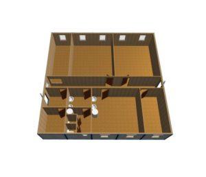 mk 14 5 1024x522 1 300x258 - МК-14. Модульное здание из блок контейнеров