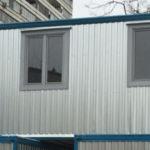 блок-модуль, блочно-модульное здание, модульное здание (2 контейнера)