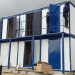 блочно-модульное здание, модульное здание, 2 этажа