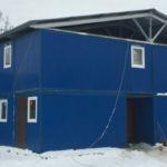 блок-модуль, блочно-модульное здание, модульное здание, модульный блок-контейнер