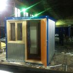 блок-контейнер душевая, блок-контейнер сантехнический, Санузел